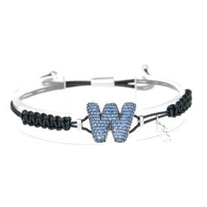 leletterine bracciale w blu