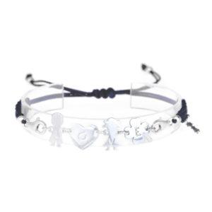 bracciale love blu navy