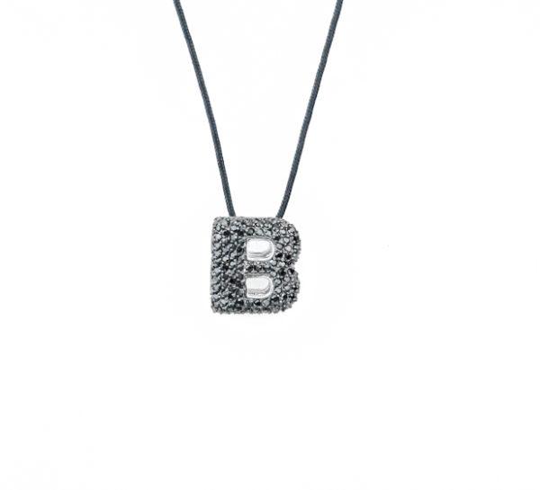 leletterine collana b nera