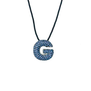 leletterine collana g blu