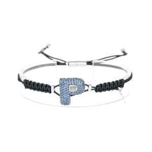 leletterine bracciale p blu