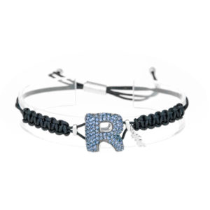 leletterine bracciale r blu