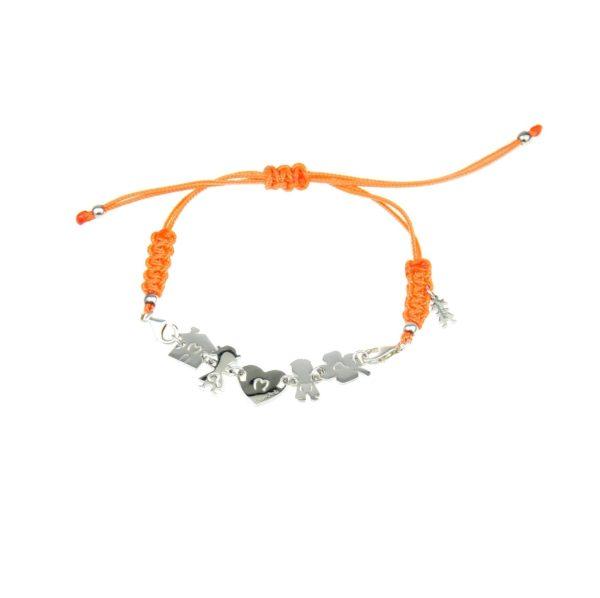 bracciale mamma arancione