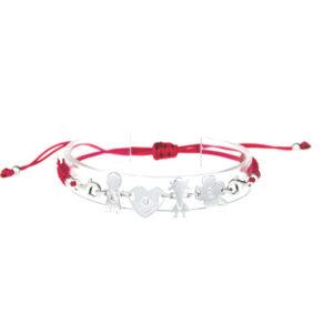 bracciale love rosso