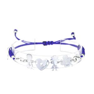 bracciale love viola