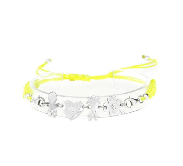 bracciale love giallo