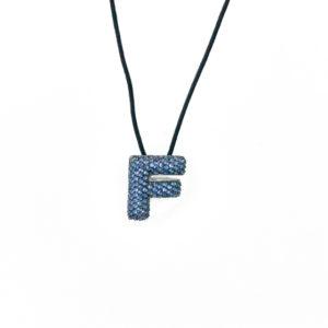 leletterine collana f blu