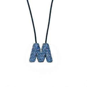 leletterine collana m blu