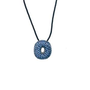 leletterine collana o blu