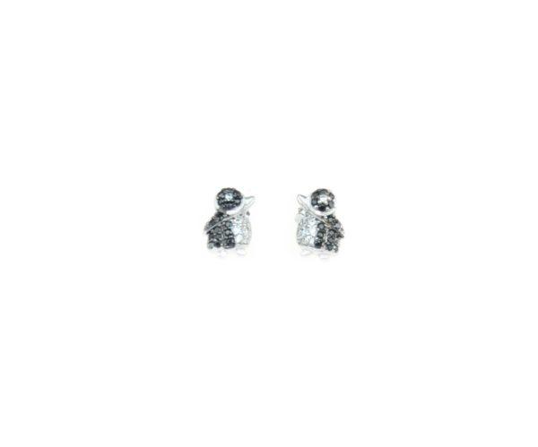 lozoodeibamboli orecchini pinguino